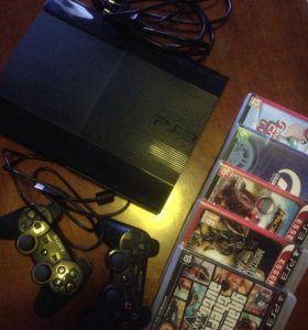 PS3 Super Slim. 500GB.