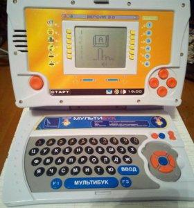 Детский интерактивный ноутбук