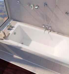 Ванны:акриловые, чугунные.