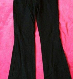 Джинсы/брюки черные клеш