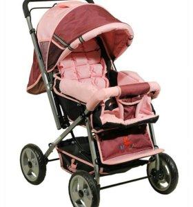 Детская прогулочная коляска модерн