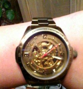 Часы мужские наручные механика, скелетоны,СКИДКА!!