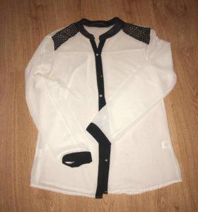 Блузка свободного типа