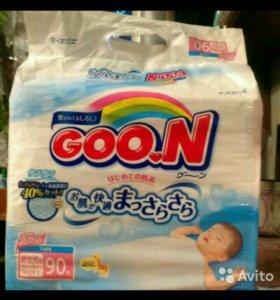Подгузники COO.N (до 5 кг) 90 шт