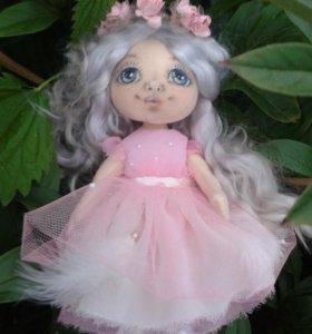 кукла текстильная интерьерная Ангелина