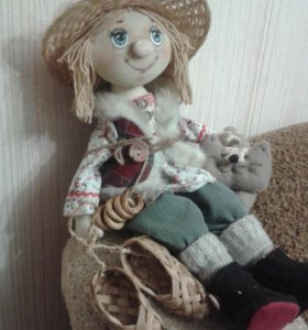 кукла текстильная Кузя