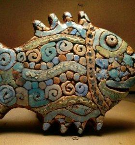 Рыбы керамические