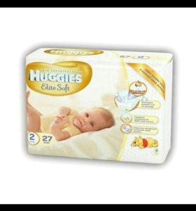 Подгузники Huggies Elite Soft2