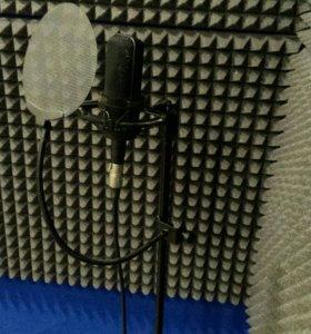 Запись песен (студия звукозаписи)