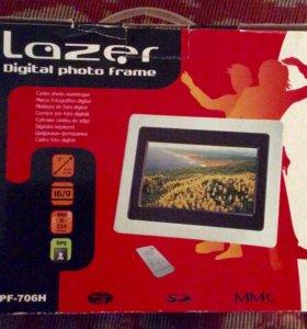 Фоторамка цифровая Lazer