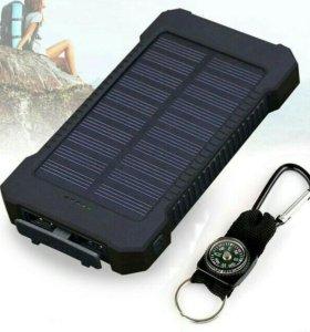 Зарядное устройство на солнечных батареях 20000mah