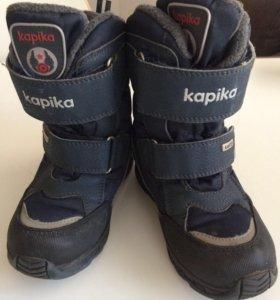 Зимние ботинки Капика мембрана