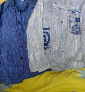 Рубашки ветровки