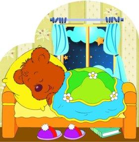 Картина для спальни в детский сад