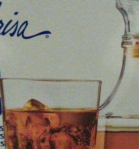 Бокалы для виски, текилы 4шт + графин