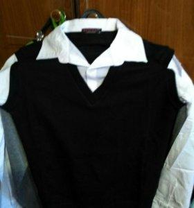 Рубашка обманка.