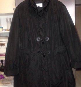 Куртка на синтепоне р.56