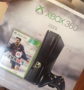 Xbox 360 - slim 250гб