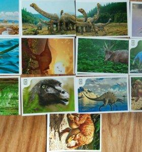 Динозавры в Дикси наклейки