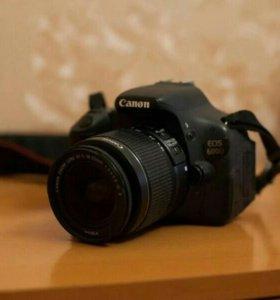 Цифровой зеркальный фотоаппарат Canon D 600