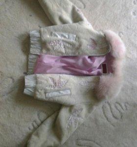 Мутоновая курточка
