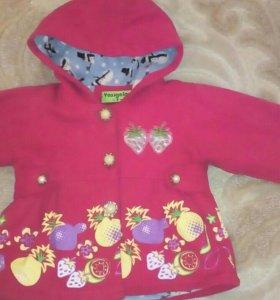 Пальто на малышку