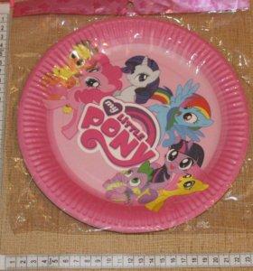 Тарелки Пони