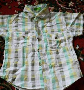 Рубашка + колготки теплые 2 пары