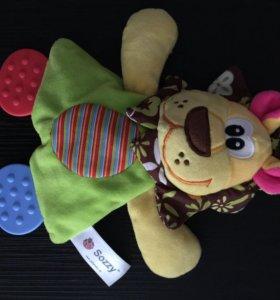 Продам игрушки (в подарок много погремушек)