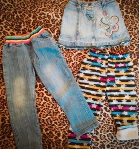 Вещи пакетом для девочки на 4-5 лет