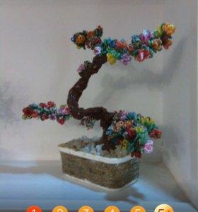 Сувенир из бисера и орегами