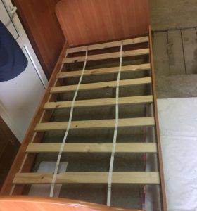 Продам 1 сп. кровать без матраца