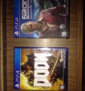 DOOM, Far Cry 4 (PS4)