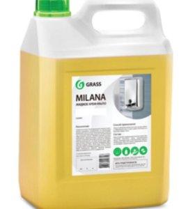 """Жидкое крем-мыло """"Milana"""" молоко и мед ( 5 кг)"""