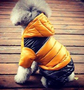 Новый зимний комбинезон/куртка/одежда для собак