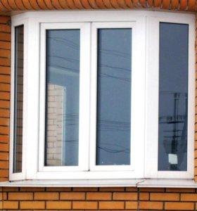 пластиковые окна ПВХ с откосами