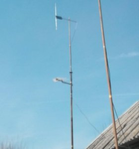 Радио мачта телескоп15метров