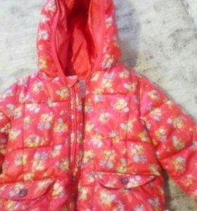 Курточка фирмы Zara размер 12/18.Цена 600р.