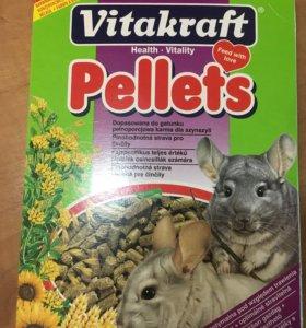 Pellets корм для шиншилл