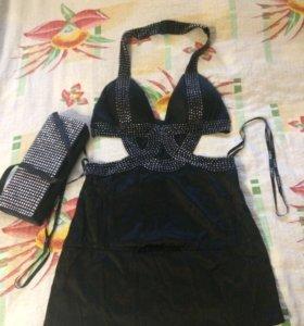 Платье 40-42+клатч