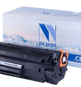 HP 285A картридж nv print