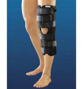 Ортез на коленный сустав с шинами
