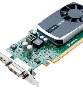 Видеокарта PNY nvidia Quadro 600, 1 Gb, б/у, 2 шт