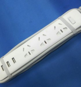 Удлинитель Mi Power Strip 3 розетки / 3 USB Ports