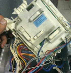 Модули управления стираль и посудомоечных машин.