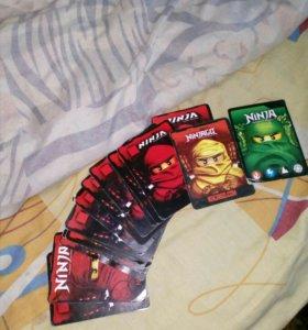Карточки ниндзяго