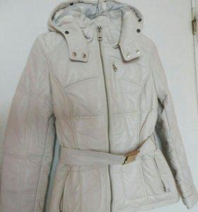 Новая! Кожаная куртка