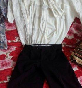 Мужские брюки и рубашки даром