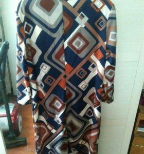 Платье теплое 52 р