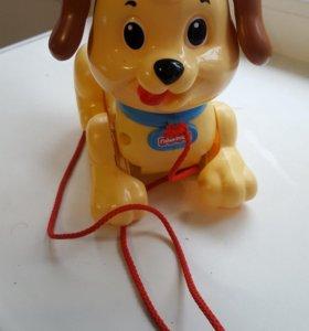 Каталка Fisher Price «Веселый щенок»